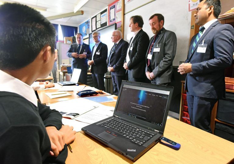 LiFi pureLiFi Kyle Academy School South Ayrshire