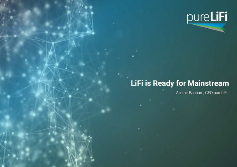 Light Connected Image with title LiFi is ready for mainstream